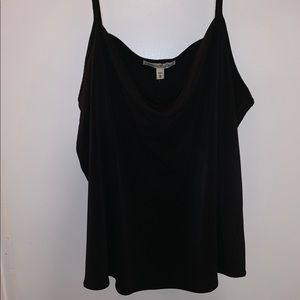 Express One Eleven Drape Front Cami